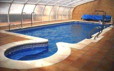 Instalación solar en la piscina municipal de Cinctorres