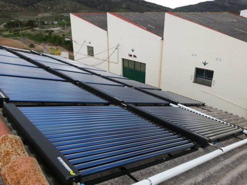 Energía Solar Térmica USO INDUSTRIAL. Catí