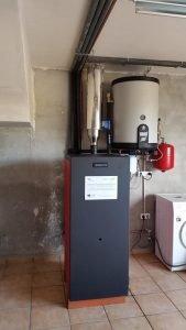 Instalación biomasa subvencionada