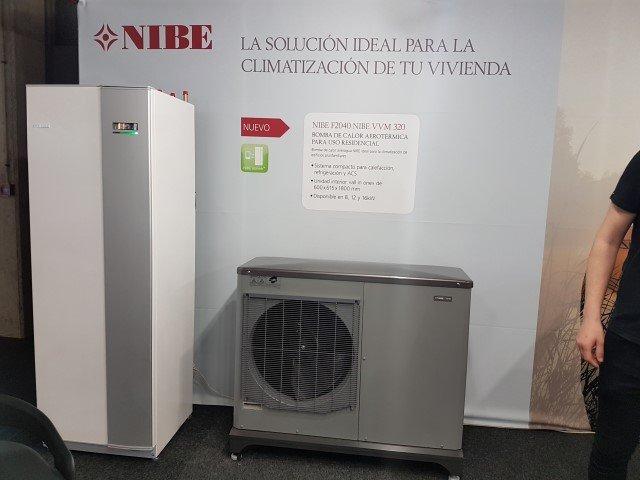 Nueva generación de bombas de calor NIBE