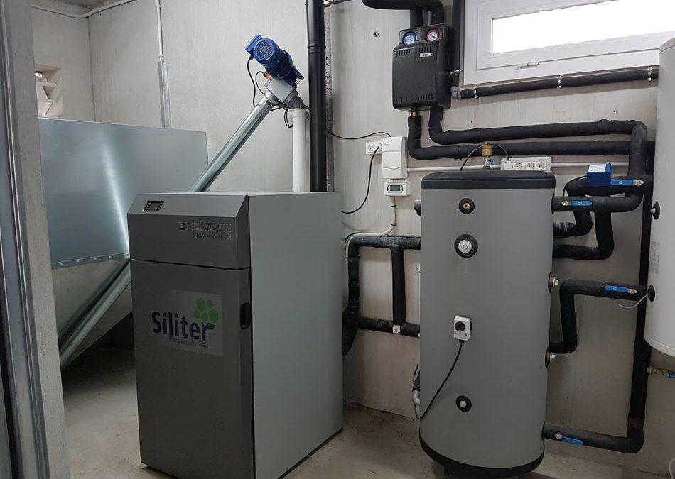 Instalación térmica de BIOMASA CON SILO EXTERNO – Coves de Vinromà
